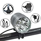 Bicycle Lights 3000 Lumens Rechargeables Review and Comparison