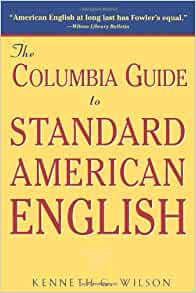 Amazon.com: The Columbia Guide to Standard American