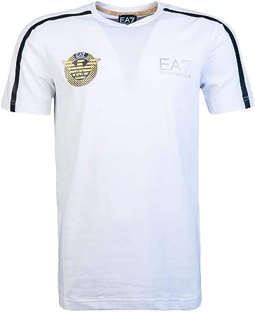 Empire Armani EA7 - Camiseta de manga corta (talla XXXL), color blanco: Amazon.es: Ropa y accesorios