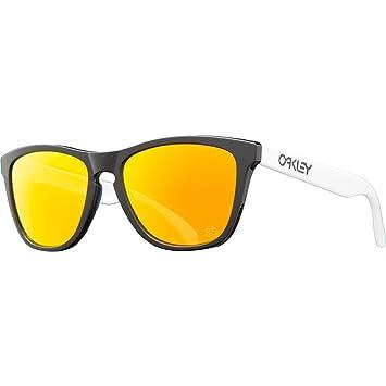 20c1cd6167 Oakley Frogskins - Gafas de sol Negro Black/Fire Iridium: Oakley:  Amazon.es: Deportes y aire libre