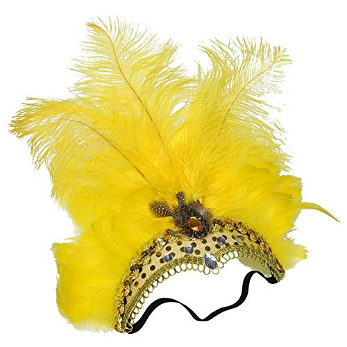 Vegas Halloween Ball (Feynman Halloween Feather Headwear with)