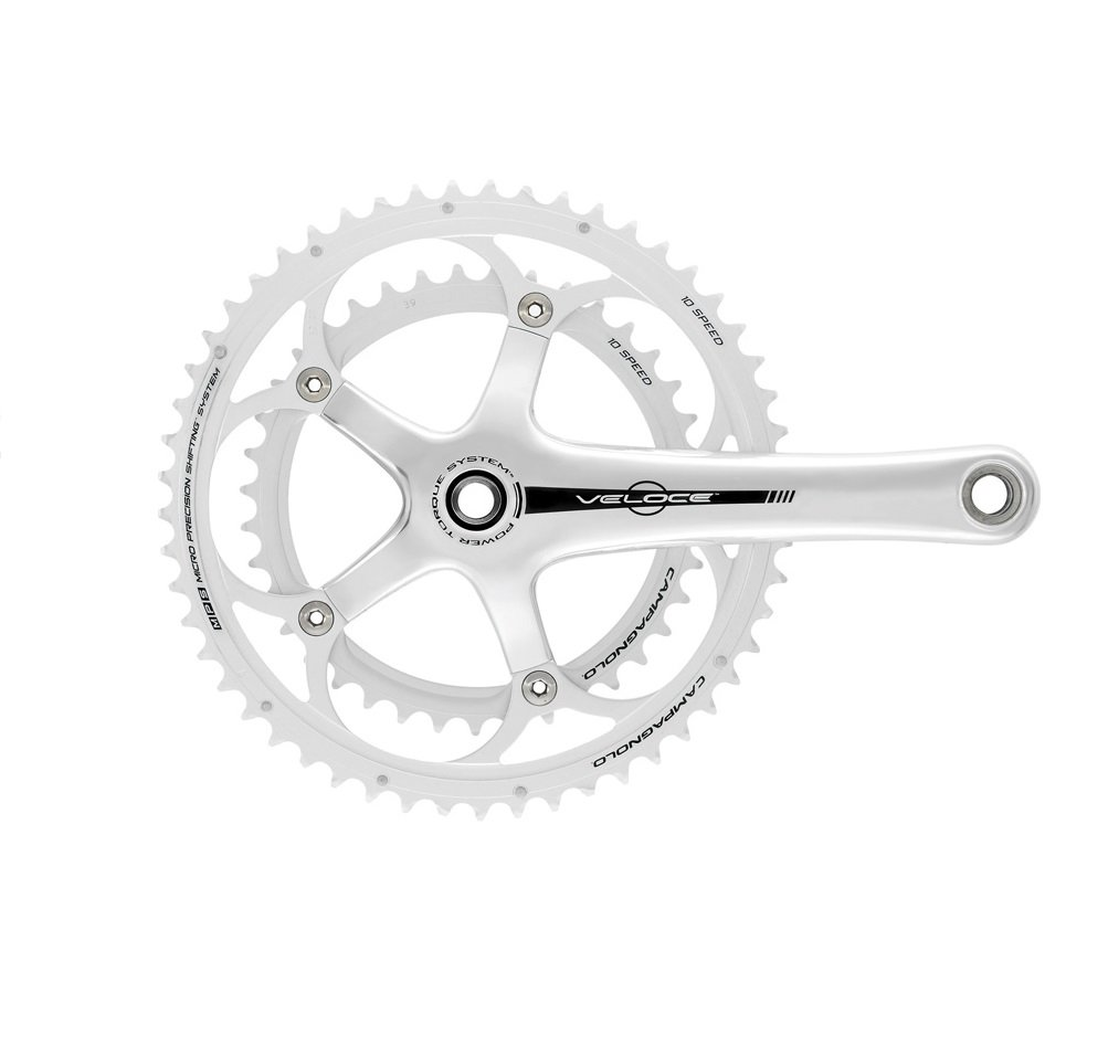 Campagnolo Veloce 10-Speed 50-34 T CT Power Torque System Crankset Black 170 mm