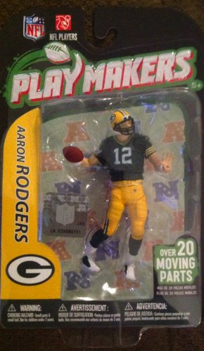NFL Green Bay Packers McFarlane 2012 Playmakers Series 3 Aaron Rodgers Action - Mccoy Green Lesean