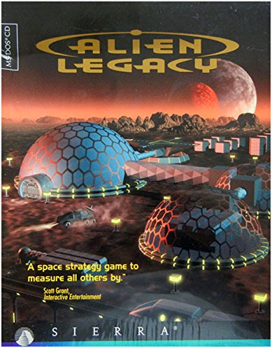 Alien Legacy(MS DOS CD game) - Dos Ms Games