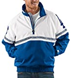 """Los Angeles Dodgers MLB Starter """"Academy"""" 1/2 Zip Pullover Embroidered Jacket"""
