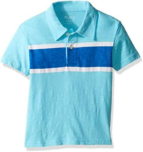 The Children's Place Boys' Polo Shirt with Stripe