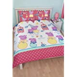 Character World 200 x 200 cm Peppa Pig Funfair Double Rotary Duvet Set by Character World