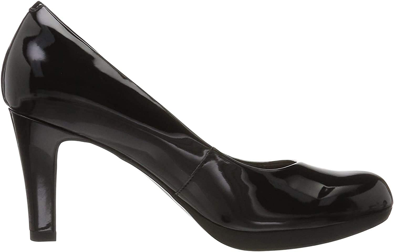 Clarks Adriel Viola, Zapatos de Tacón para Mujer