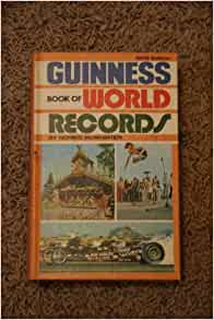 Records of guinness book of world record