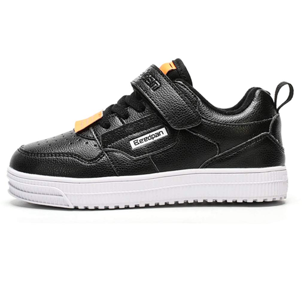 LGXH Boys Girls Basketball Sneaker Non-Slip Waterproof Kids Low Casual Walking Trainers Skate Shoes
