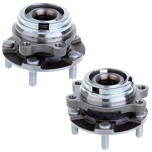 Scitoo 2 Pcs Wheel Hub Bearing Front Fits Infiniti EX35 EX37 FX35 FX37 G25X G37X M56X M45X (Wheel Hub 2 Pcs Car)