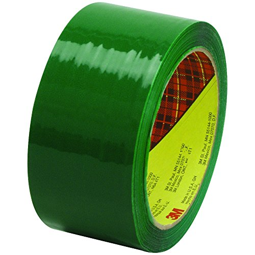 Scotch T901373G6PK Green #373 Carton Sealing Tape, 2