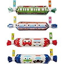 Vehicles bento box food wrapper papers