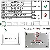 """Allytech MacBook Air 11.6"""" Case, AIR 11-inch"""