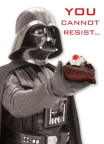Amazon.com : Star Wars SW387 Cannot Resist Greeting Card ...