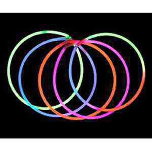 Glow Necklace 22'', Light Up - E500, Blue 250 CT