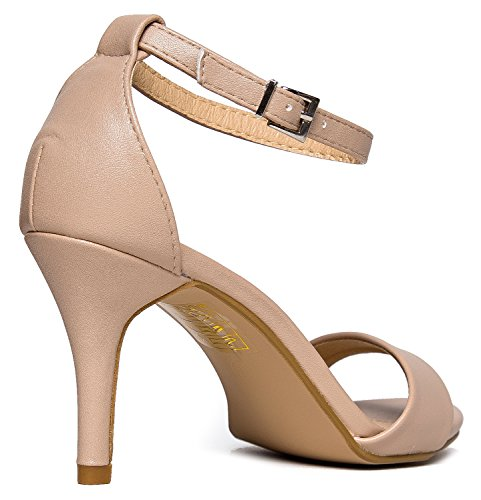Amazon.com | J. Adams Dove Heels for Women - Black Faux