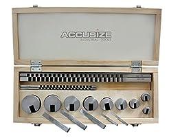 Accusize Industrial Tools No.10 18 Pcs H...
