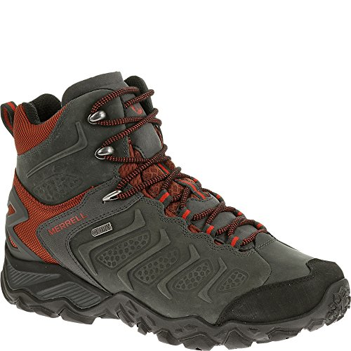 Merrell Men's Chameleon Shift Mid Waterproof Hiking Boot, Granite, 8 M US