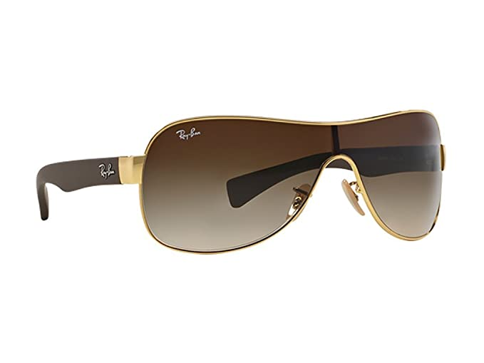 1e6f49ef1bf5 Image Unavailable. Image not available for. Colour  Ray-Ban Shield Men s  Sunglasses (Mod3471Sole00113