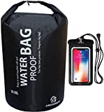 Freegrace Waterproof Dry Bag - Lightweight Dry Sack with Seals and Waterproof Case