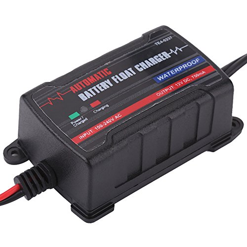Qiilu 0.75A 6V 12V Automatic Battery Trickle Charger Maintainer for Car Motor ATV RV (American Plug) by Qiilu (Image #9)