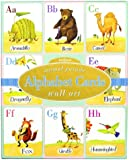 Alphabet Cards: Animal Parade Wall Art