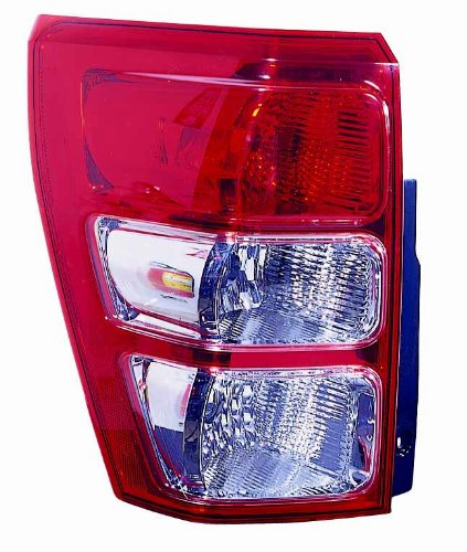 Depo 318-1907L-US Suzuki Grand Vitara Driver Side Replacement Taillight Unit without (Grand Vitara Tail)