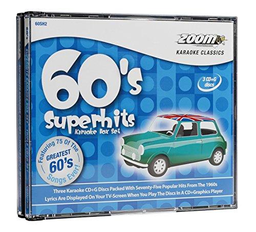 Zoom Karaoke - Sixties Superhits Box Set - 75 Songs - Triple CD+G Set