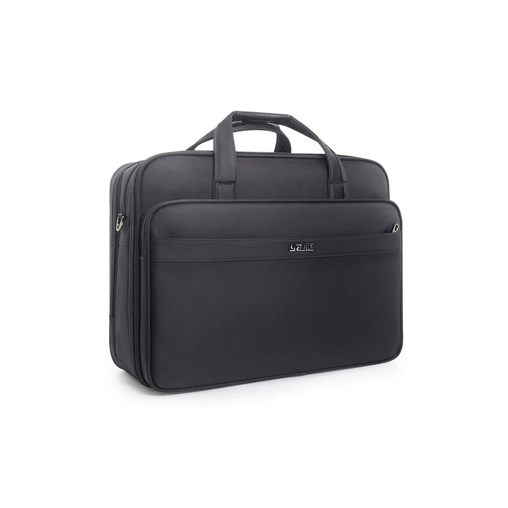 QSJY File Cabinets Business Document Bag, Oxford Cloth Durable Briefcase, Document Laptop Travel Bag 3 Optionals (Size : 3247L-44×33×(17-21) cm) by QSJY File Cabinets