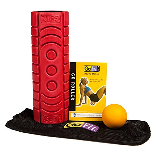 GoFit Go-Roller with Trigger Point Ball (Go Roller Travel)