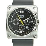 Ingersoll Bison No.43 IN4108SBK Montre bracelet automatique en cuir pour homme édition limitée