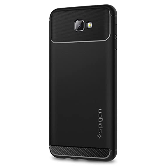 new style fbf41 69351 Spigen Rugged Armor Designed for Samsung Galaxy J7 Prime Case (2016) - Black
