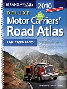 Rand mcnally deluxe motor carriers road atlas rand for Motor carriers road atlas download