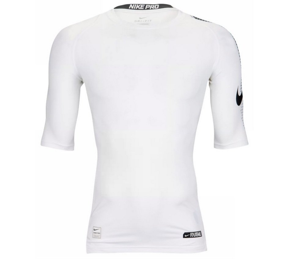 f0d4a52d0019 Nike Mens Pro Combat Hyperwarm Compression Chainmaille Long Sleeve Shirt