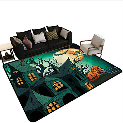 Halloween,Indoor Super Absorbs Doormat 60