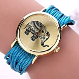 Evertrust (TM)77 Fashion New Summer Style Fashion Casual Bracelet Watches Wristwatch Casual Watch Friendship Reloj Women Watch 88 XR1301