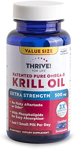 Thrive Life Patented Omega 3 Strength product image