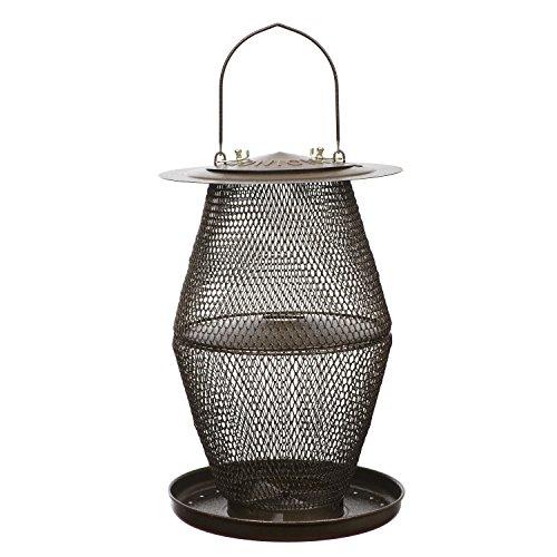No/No Bronze Lantern Bird Feeder  BZL00328