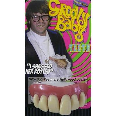 Billy Bob Fake Halloween Teeth - Groovy Baby: Clothing