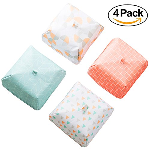 iGoods 4 Pack Large Pop Up Food Cover Tent, Insulated Collapsible Large Food Screen Protector for Indoor Outdoor Events, Plate Serving Covers Screen Umbrella Keep Fruit Flies,Bugs, Ants Away (Large) - Excursion Beach Cooler