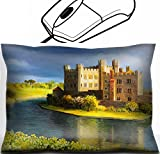 MSD Mouse Wrist Rest Office Decor Wrist Supporter Pillow design 15339528 Famous Castle near Leeds in Kent painted on the canvas by me Kiril Stanchev