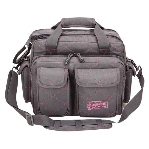 Standard Scorpion Range Bag - Lady Voodoo Custom Series, Gray/Pink by VooDoo Tactical
