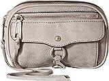 Rebecca Minkoff Women's Blythe Belt Bag, Grey, One Size
