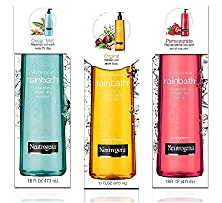 Neutrogena Rainbath Shower Gel, Multi-pack (16 fl. oz., 3 pk.) Refreshing, Renewing, Rejuvenating....