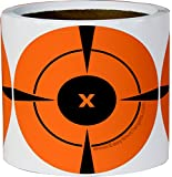 200 Mega-Pack 4-Inch Target Stickers | Buy 1 Roll & Get 1 Free - NEON ORANGE Self-Adhesive Targets for Shooting | You Get 200 4-Inch Firearms Targets at the Lowest Price. 100% MONEY BACK GUARANTEE