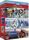 Pixar : Toy Story 3 + Monstres & Cie + Ratatouille - coffret 5 Blu-ray