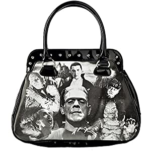 Rock Rebel Women's Monster Collage Handbag