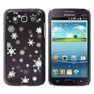 Paccase / SLIM PC / Aliminium Casa Carcasa Funda Case Cover - Winter Pattern Snowing - Samsung Galaxy Win I8550 I8552 Grand Quattro