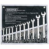 Draper Expert 29545 - Juego de llaves combinadas métricas (11 unidades)